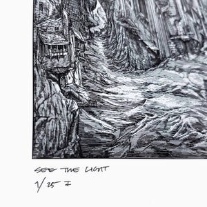 Image of GHOST SEE THE LIGHT limited artprint