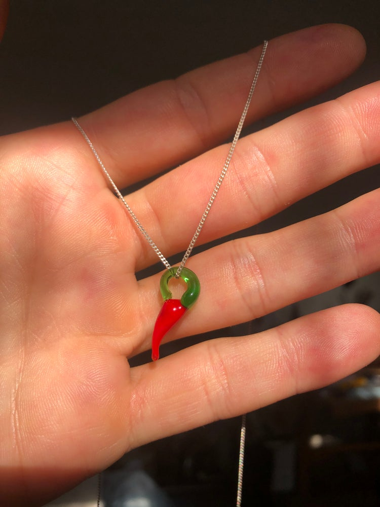 Image of Chilli necklace