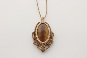 Image of Tiger Eye necklace