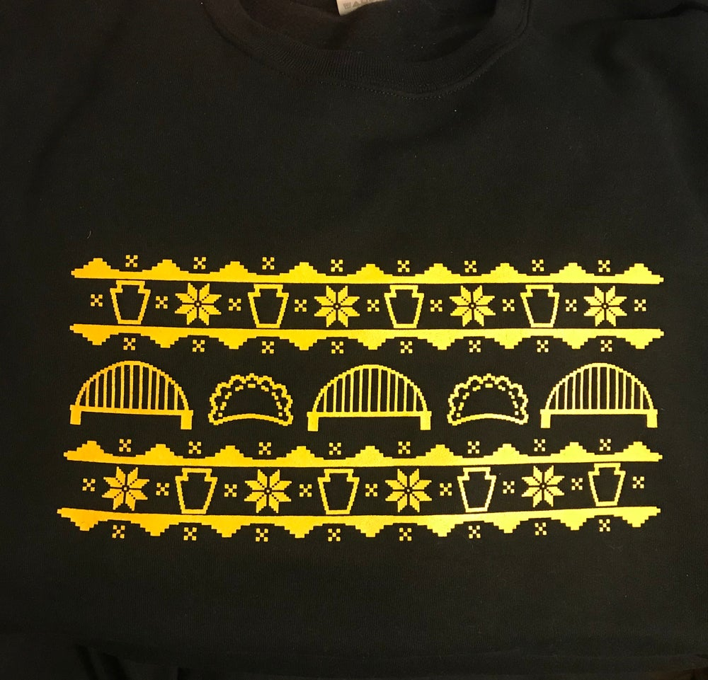 Image of Pittsburgh Holiday Sweatshirt