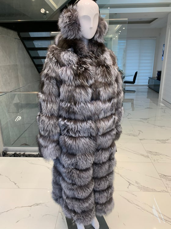 Image of Custom Silver Fox 3in1 Coat