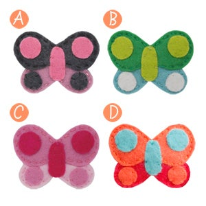 Image of big girl hair clips #17
