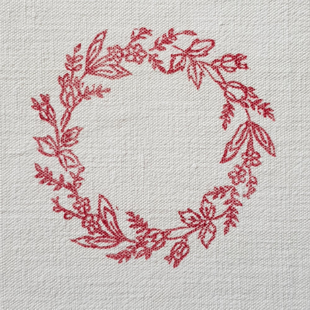 Image of Red Wreath - Mounted