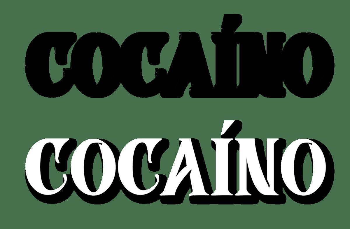 Image of Black 'Cocaíno' MC Tee