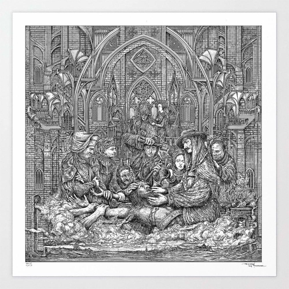 Image of GHOST FAITH limited artprint