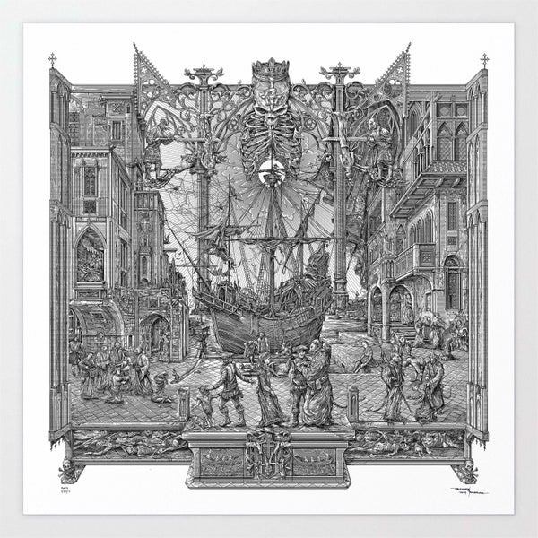 Image of GHOST RATS limited artprint