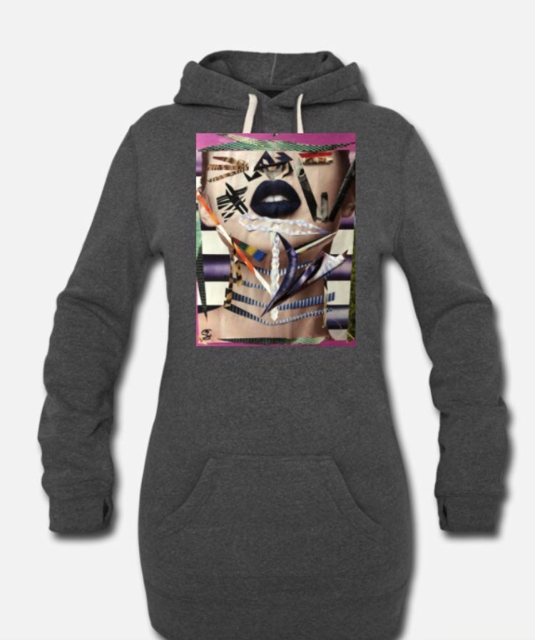 Image of Unapologetic Woman Hoodie Dress
