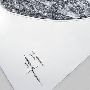 Image of GHOST PRO MEMORIA limited artprint