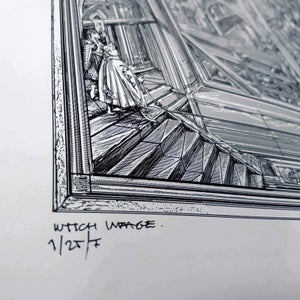 Image of GHOST WITCH IMAGE limited artprint