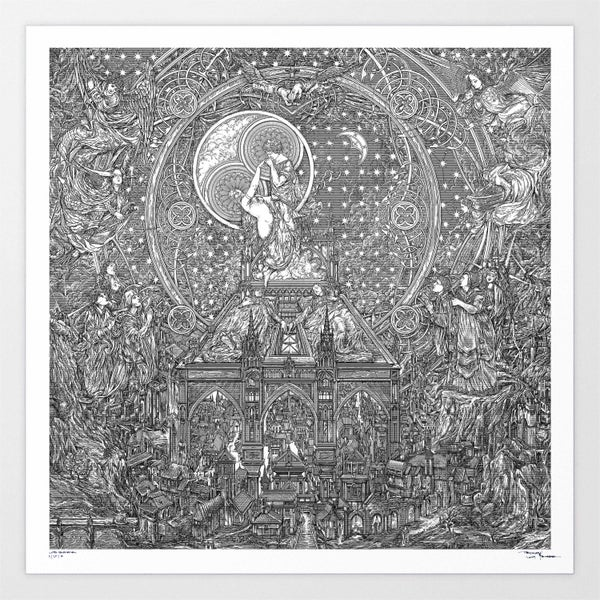 Image of GHOST LIFE ETERNAL limited artprint