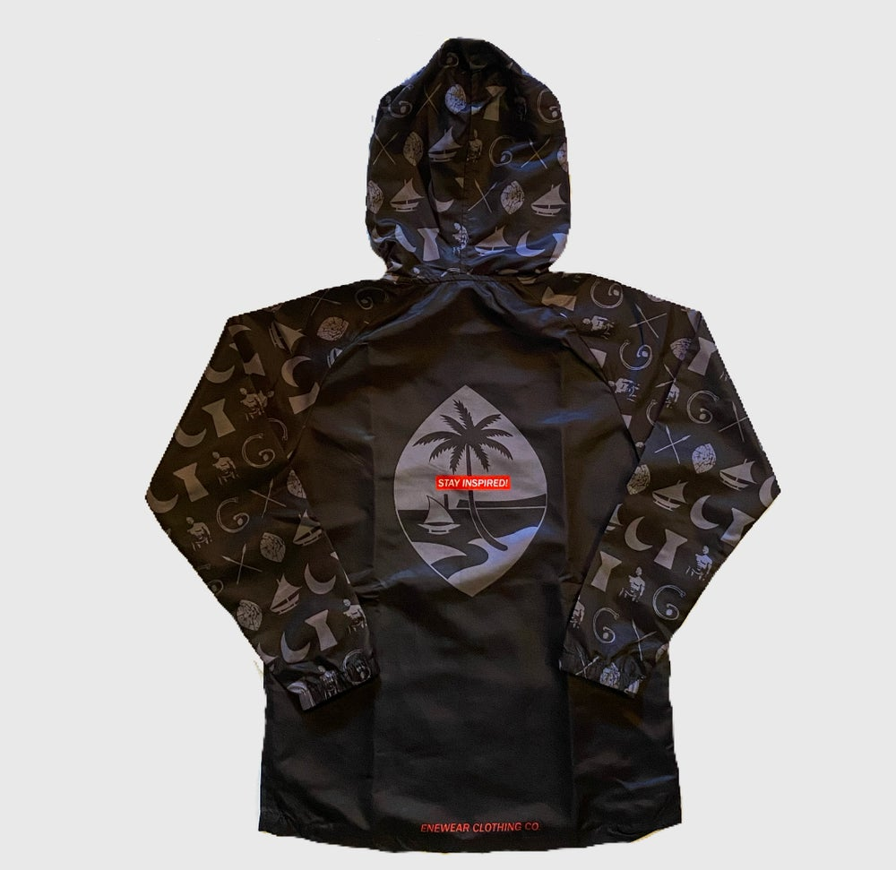Image of SYMBOLS RAIN JACKET