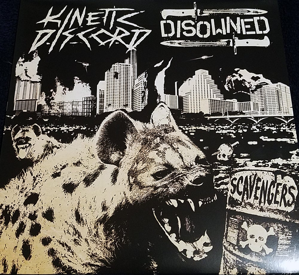 """Image of KINETIC DISCORD/DISOWNED - Scavengers Split 12"""" EP"""