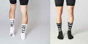 Image of FINGERSCROSSED HELL YEAH 2.0 Cycling Socks