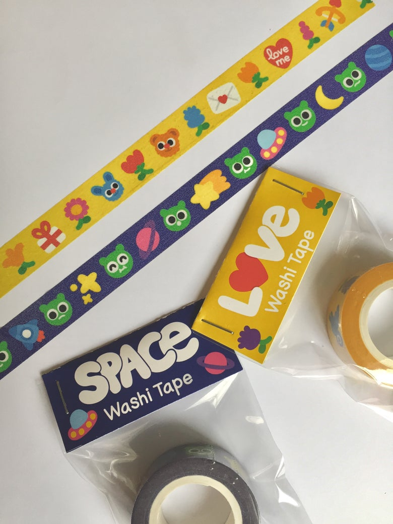 Image of Washi Tape Love & Space