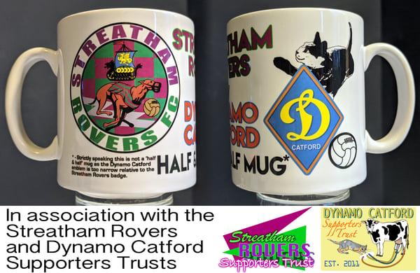 Image of Dynamo Catford & Streatham Rovers Half'n'Half Mug