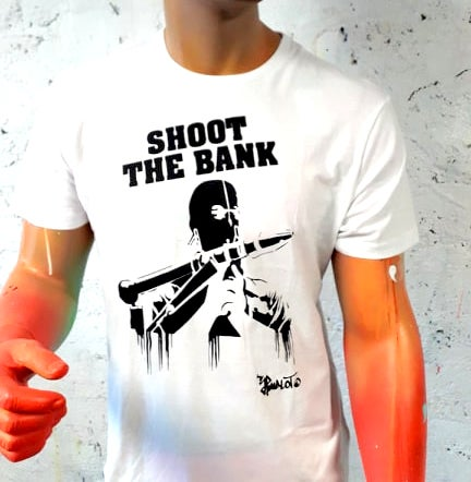 Image of TEE SHIRTS SHOOT THE BANK