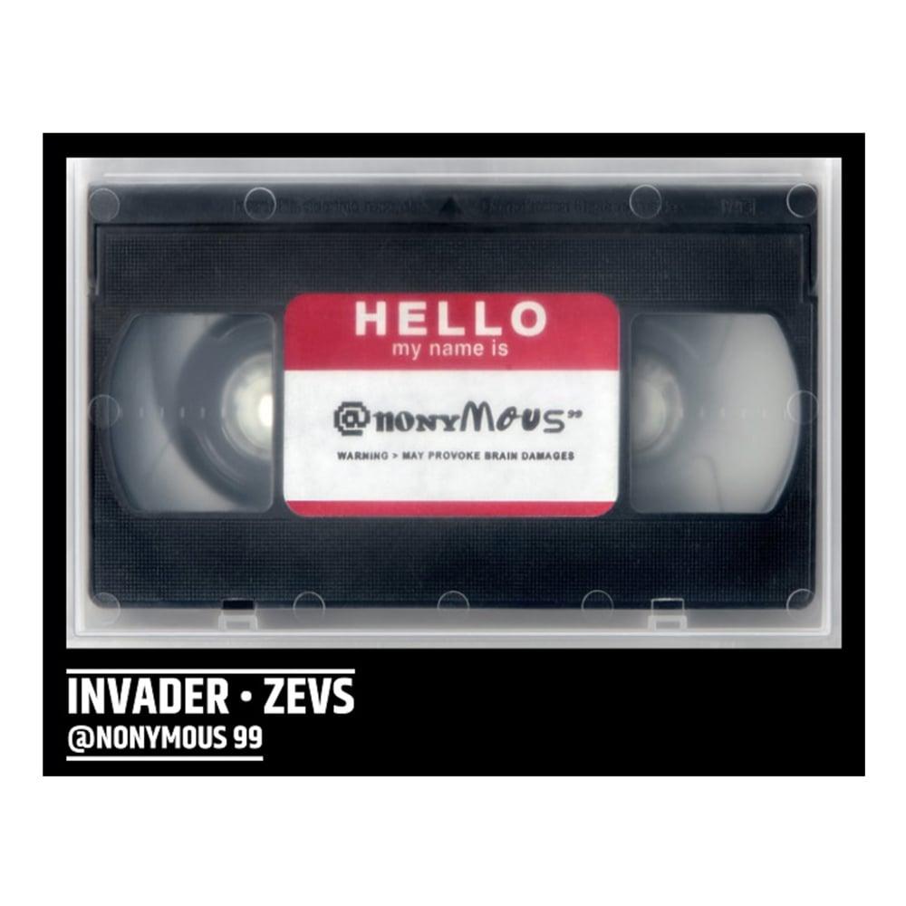 Image of INVADER & ZEVS - DVD @NONYMOUS - LAST COPIES