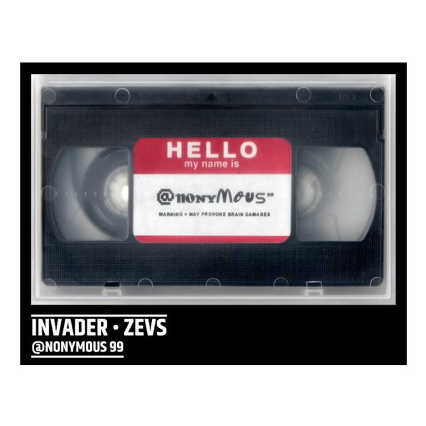 Image of INVADER & ZEVS - DVD @NONYMOUS - LAST COPIES