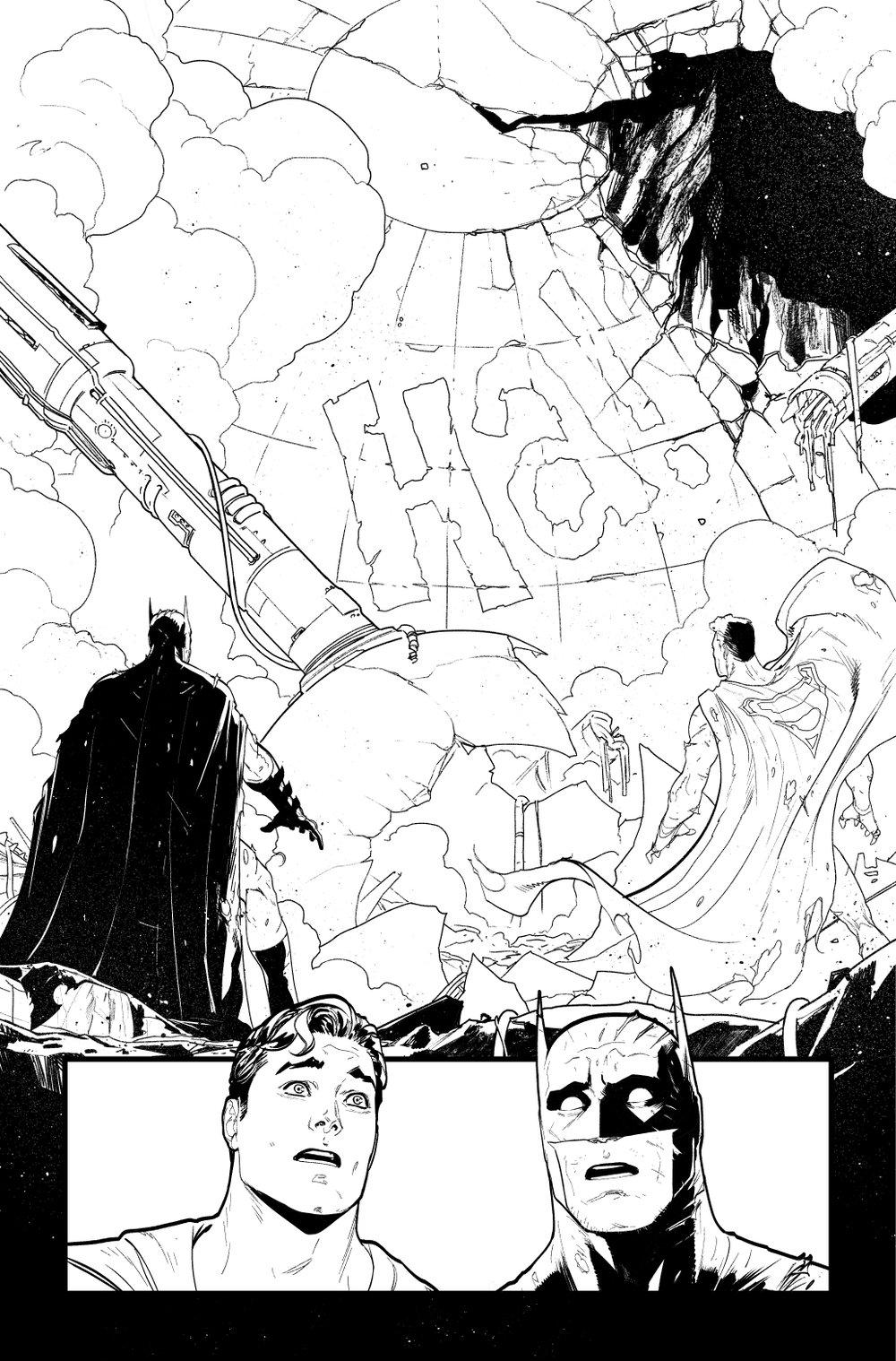 Image of BATMAN/SUPERMAN #5 p.20 ARTIST'S PROOF