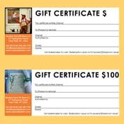 Image of Bradley Farm Gift Certificates