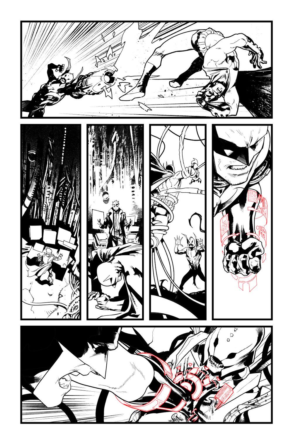 Image of BATMAN/SUPERMAN #5 p.13 ARTIST'S PROOF