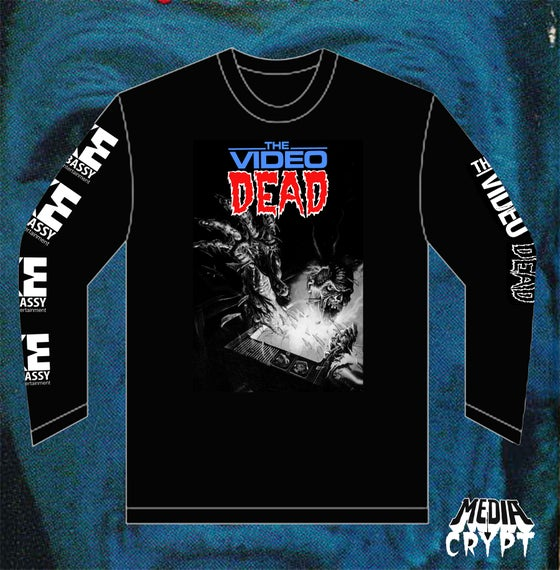 Image of The Video Dead LongSleeve Pre-Order