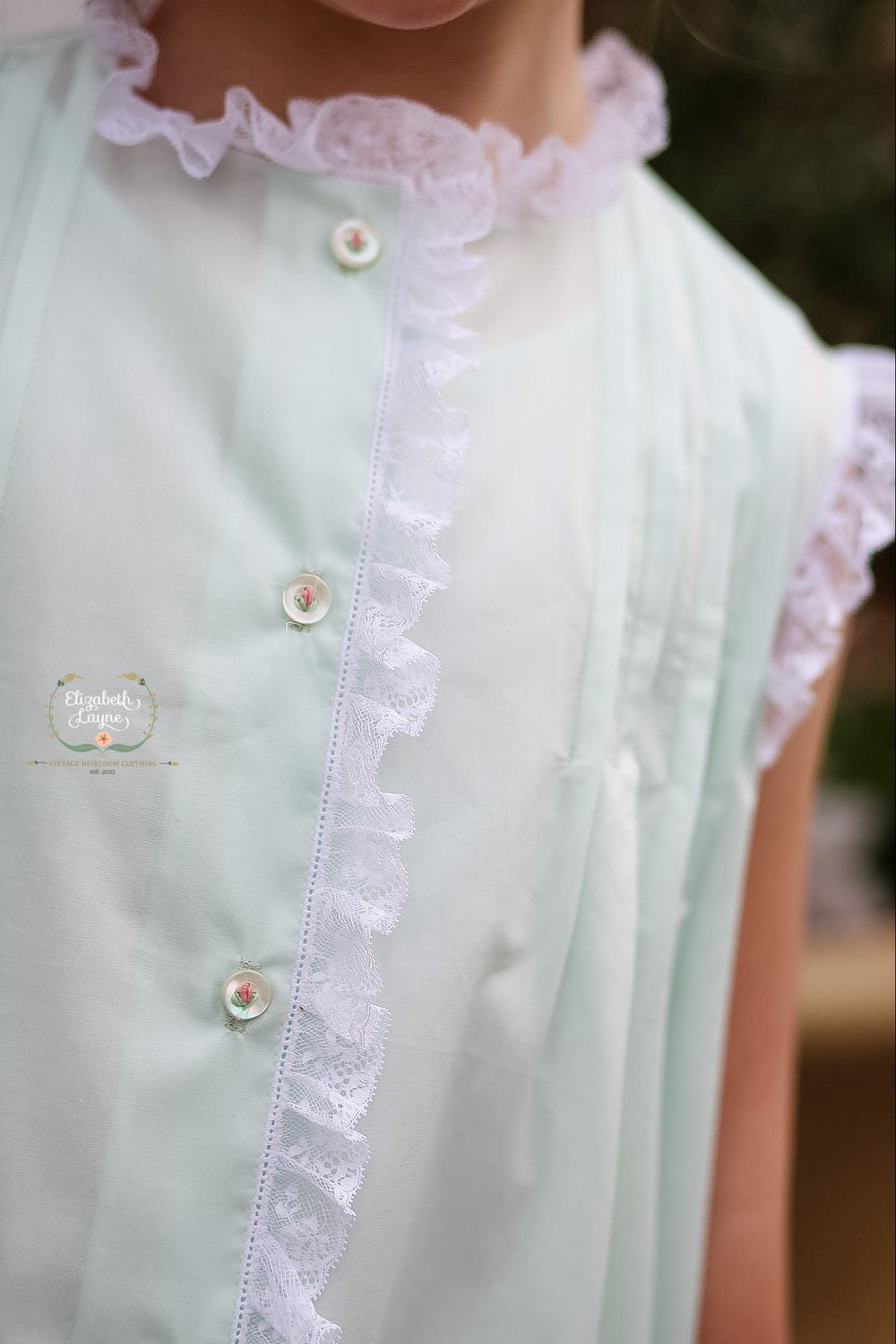 Image of Caroline Tuck Heirloom Dress