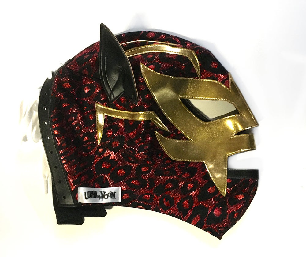 Image of Jaguar Rojo Mask
