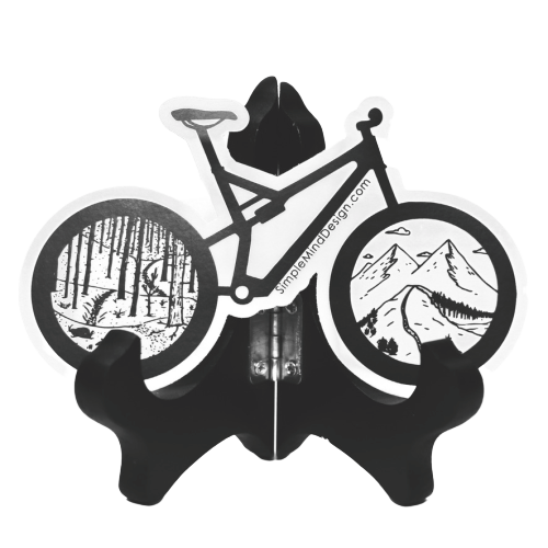 Image of Mountain Bike Sticker