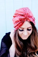Image 2 of Top Knot Turban Style Headwrap for Women