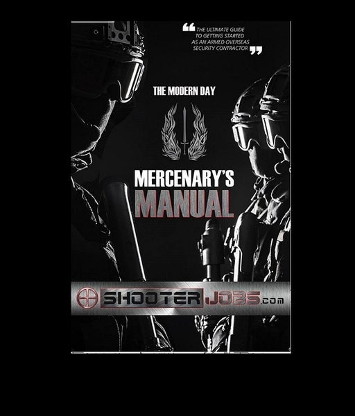 Image of Modern Day Mercenary Manual Now Available On Amazon
