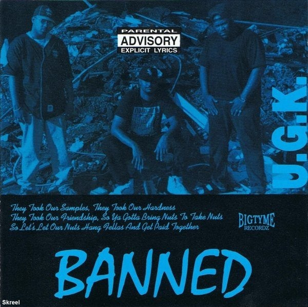 Image of UGK Banned  WAX   PRE ORDER