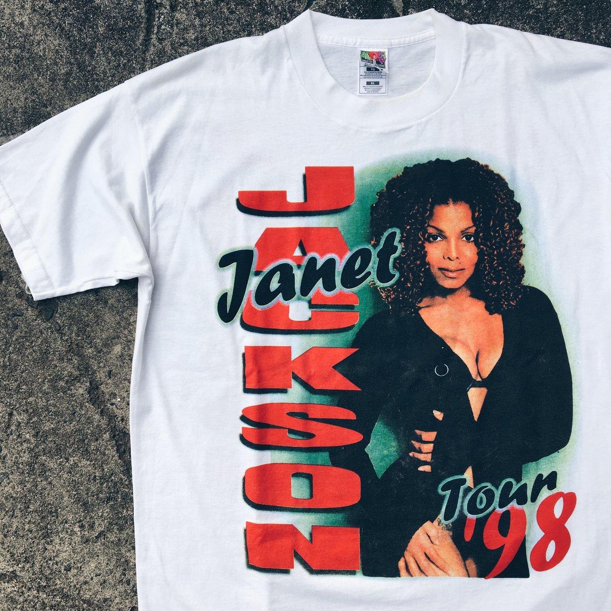 Image of Original 1998 Janet Jackson Tee.