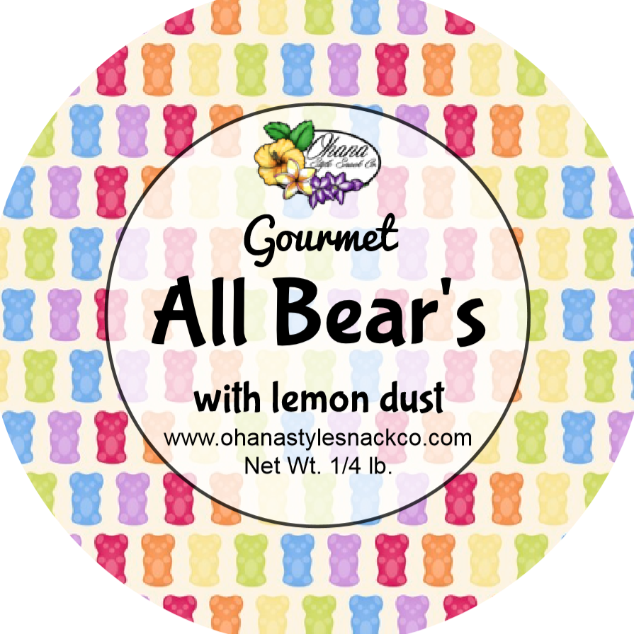 Image of All Bears with Lemon Dust
