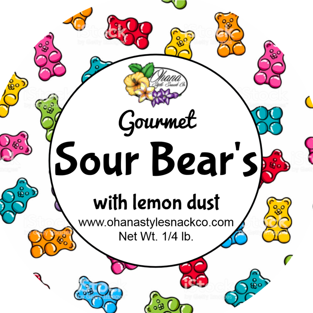 Image of Sour Bears with Lemon Dust