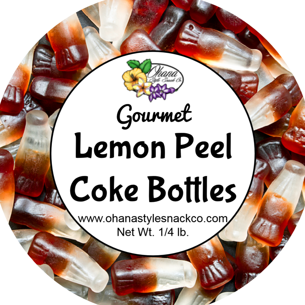 Image of Lemon Peel Coke Bottles