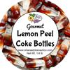 Lemon Peel Coke Bottles