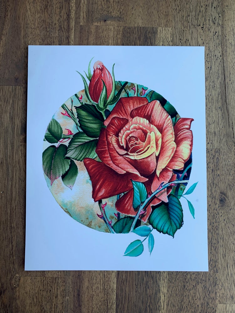Image of Rose Print byTyler Alderson