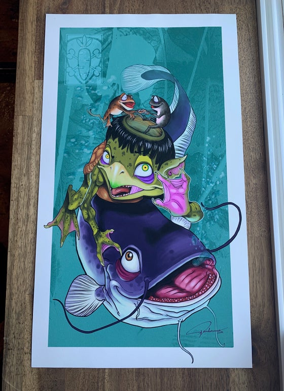 Image of Kappa Print by Ed Perdomo