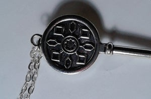 Image of Graphic Key Necklace