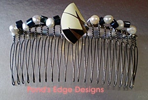 Image of Art Deco Hair Comb