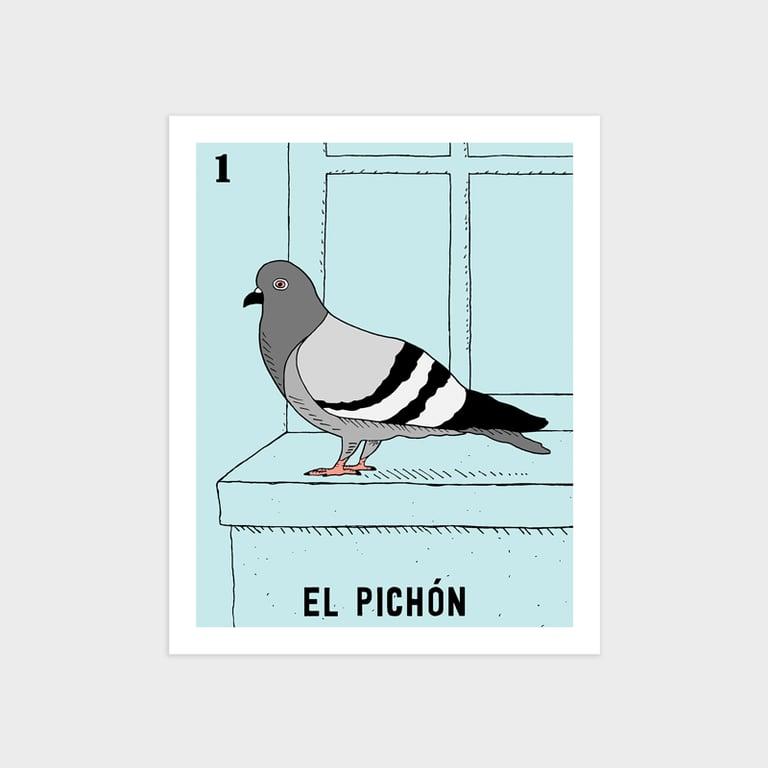 Image of El Pichón Print