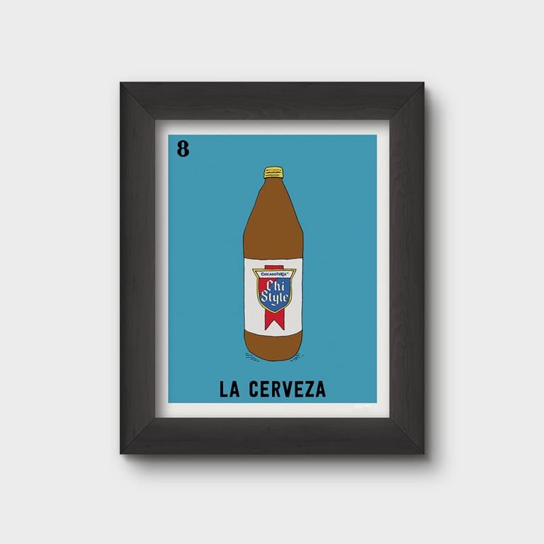 Image of La Cerveza (misprint)