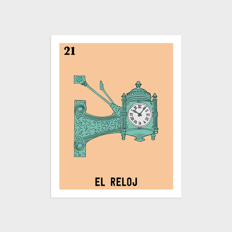Image of El Reloj Print