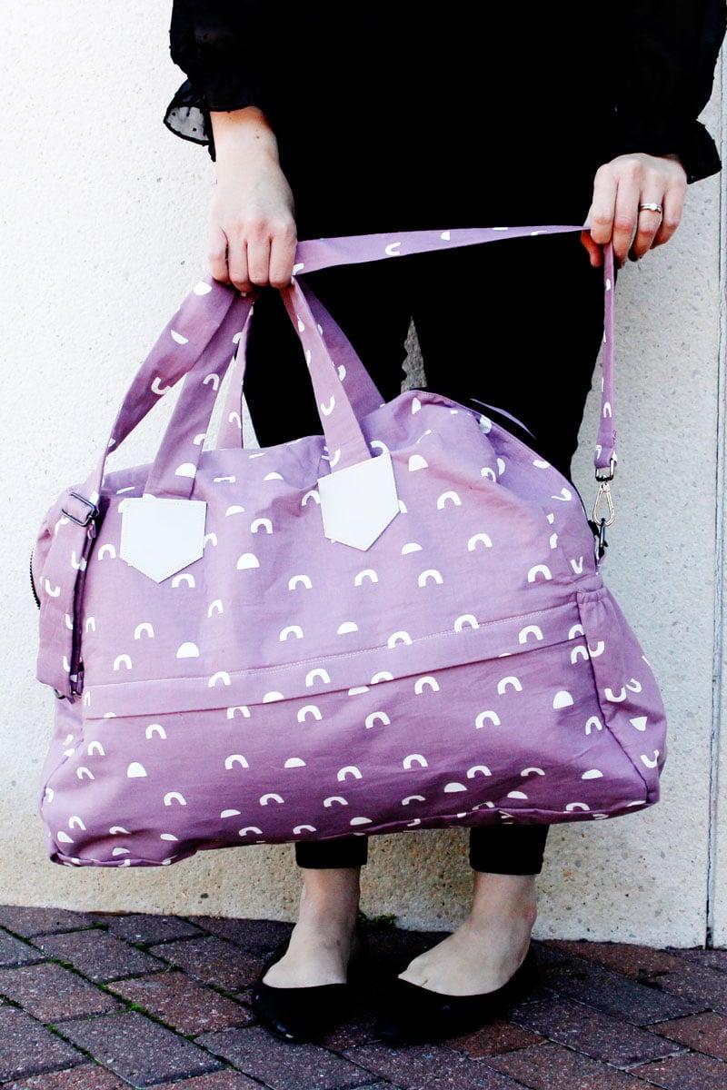 Image of the WEEKENDER bag pattern