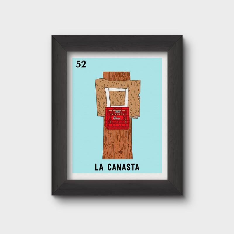Image of La Canasta Print