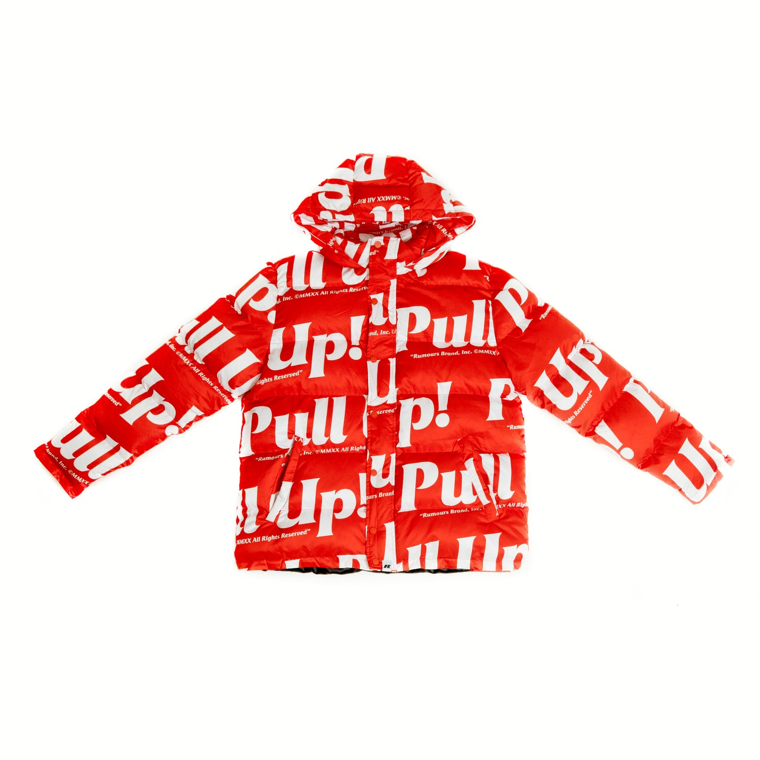 Image of Pull Up! (Red/White)
