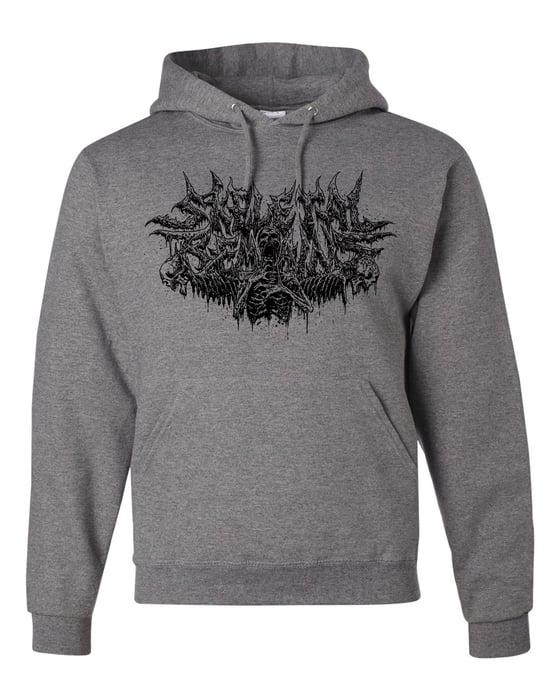 Image of Skeletal Remains Logo Hoodie