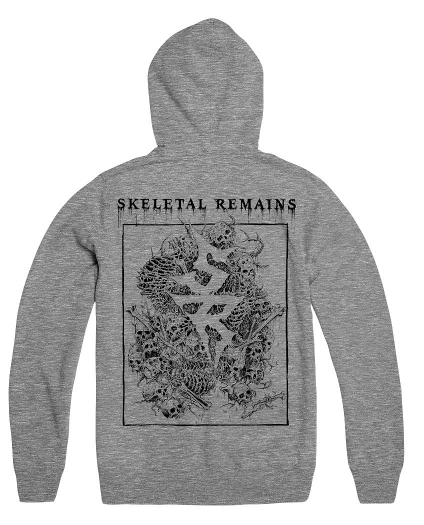 """Skeletal Remains """"Riddick"""" Logo Hoodie"""