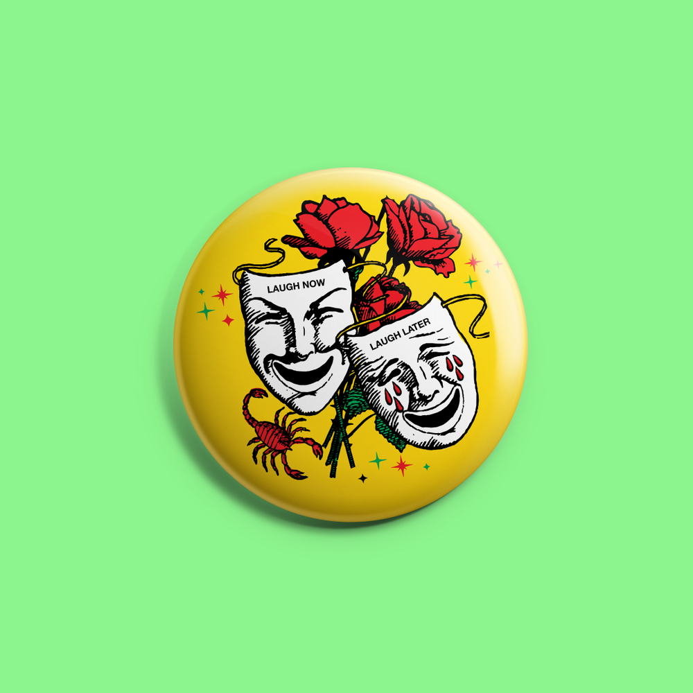 "Image of ""LOL"" - 1.25"" round pin"